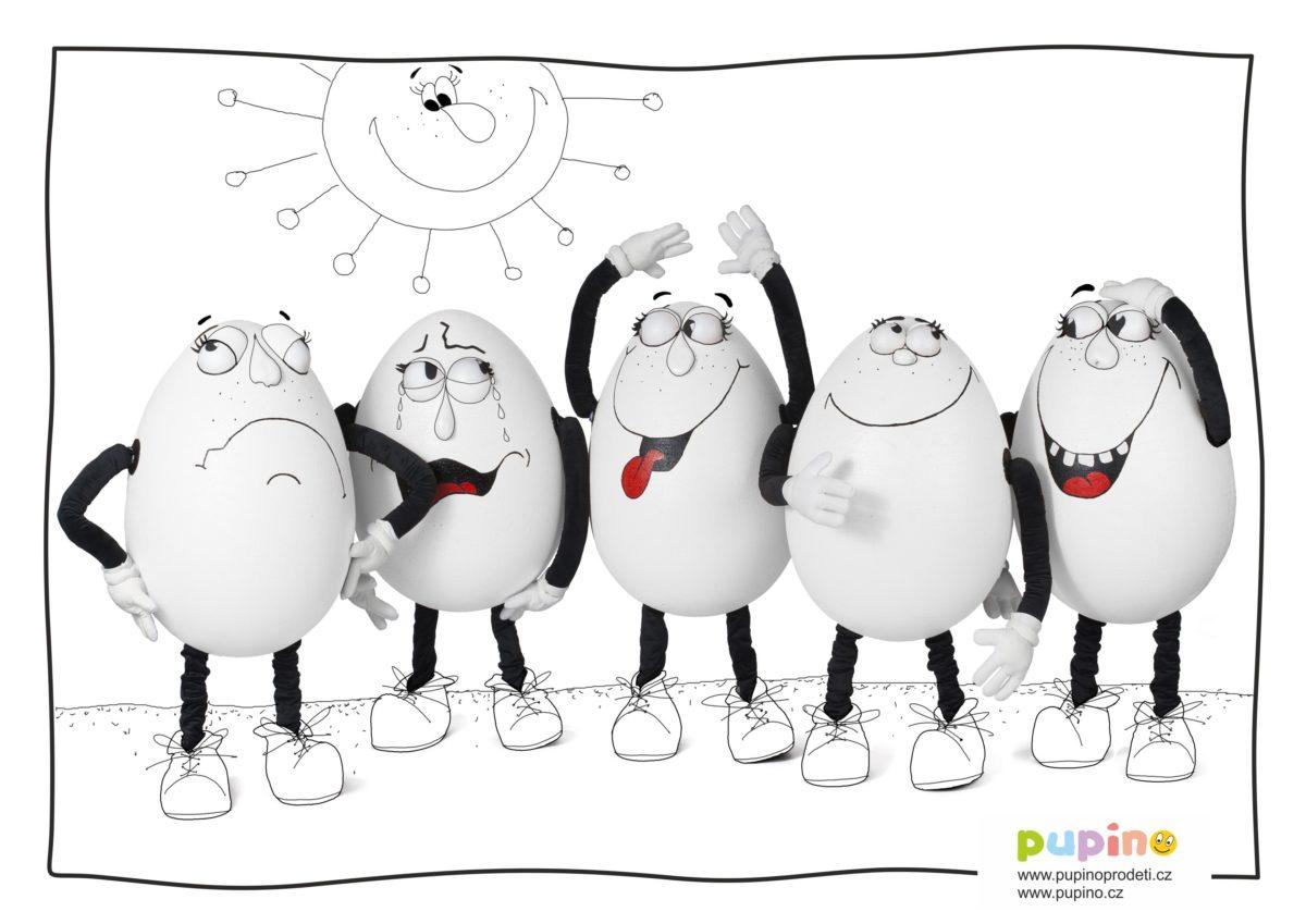Omalovánky – Veselá vajíčka